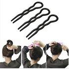 3x New Hair Twist Styling Clip Stick Bun Maker Braid Tool Hair Accessories AN24