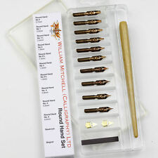 William Mitchell Calligraphy Dip Pen Nib Set - Roundhand Selection Box
