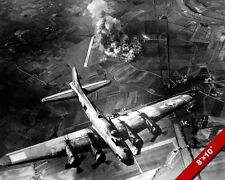 US AF B-17 BOMBER BOMBING 1943 WORLD WAR 2 WWII II PHOTO REAL CANVAS ART PRINT