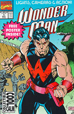 Wonder Man #1 - Lights Camera Action! - 1991 (High Grade)