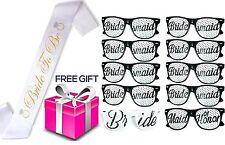 """Bachlorette4Ever Bachelorette Party Set - Includes 10 Sunglasses, 1 """"Bride to +"""