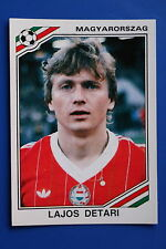 Panini WC MEXICO 86 STICKER N. 211 MAGYARORSZAG DETARI WITH BACK VERY GOOD/MINT