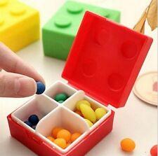 New Small Case Medicine Holder Storage Bag Jewelry Box Decor Pill Case Gift LJ