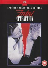 FATAL ATTRACTION Michael Douglas*Glenn Close Classic 80's Sex Thriller DVD *EXC*