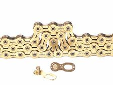 KMC X10SL Gold Chain 10Speed NEW Edition 114 Links