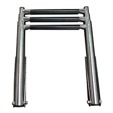 3 Step Telescoping Boat Ladder Stainless Steel Upper Platform