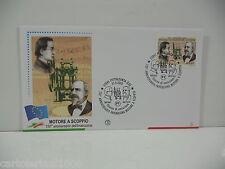 ITALIA 2003 - MOTORE A SCOPPIO ANNIVERS.  150 - FDC FILAGRANO - ANN PIETRASANTA