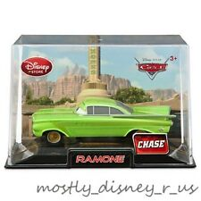 New Disney Store Pixar CARS Green Ramone Hot Rod Diecast in Case Replica Impala
