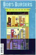 BOB'S BURGERS #1, VF+, Variant, 2015, Tina Belcher, 1st, more in store
