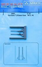 Aires 1/32 German 7.92mm MG81 Guns # 2083