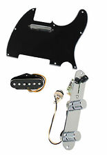 Fender Tele Telecaster Loaded Pre-Wired Pickguard Texas Special Pickups BK
