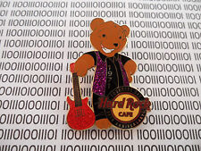 Hard Rock Cafe HRC Online - Founders Day Band Guitar Player Teddy Bear Pin