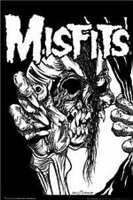 MISFITS - PUSHEAD MUSIC POSTER - 24x36 SHRINK WRAPPED - 0703