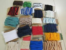 MIXED LOT OF ASSORTED  VINTAGE  SEWING TRIM 20 STYLES
