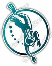 "Scuba Diver Diving Swimming Car Bumper Window Vinyl Sticker Decal 4""X5"""