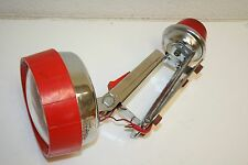 WOW Vintage Large Electric Battery Top Radar-Lite Burgess USA Flashlight Rare