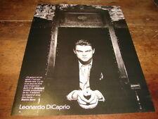 LEONARDO DI CAPRIO & HARRISON FORD - MINI POSTER N&B !!