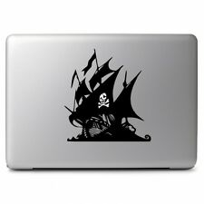 Pirate Ship Skull Decal Sticker Vinyl For Macbook Pro Air Car laptop 11 13 15""
