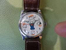 Vintage Popeye and Friends Wristwatch ca1948 Swiss Movement Excellent Condition