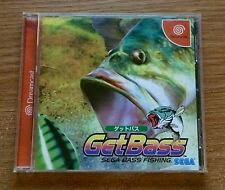 Get Bass Sega Dreamcast Game Complete Fun Japan Import Fishing Games