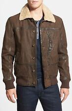 TIMBERLAND TENON LEATHER BOMBER JACKET Coat Shearling 857276 Men's M RRP $699