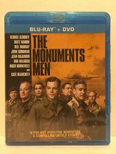 Monuments Men (Blu-ray Disc, 2014) George Clooney, Matt Damon, Bill Murray