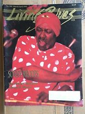 LIVING BLUES MAGAZINE #102 (1992) SONNY RHODES Holmes Brothers JOHNNY B. MOORE
