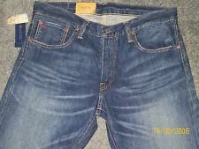 "NWT MENS POLO RALPH LAUREN ""VARICK SLIM STRAIGHT FIT JEANS  36 X 32"
