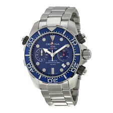 Certina DS Action Diver Chronograph Blue Dial Mens Watch C013.427.11.041.00