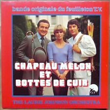 LAURIE JOHNSON Chapeau Melon Et Bottes De Cuir AKA The New Avengers BREAKS  ♫