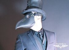 PLAGUE DOCTOR mask leather steampunk mask Halloween LARP costume cosplay