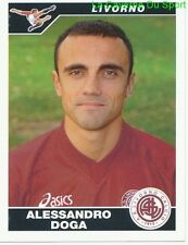 ALESSANDRO DOGA ITALIA AS.LIVORNO RARE UPDATE STICKER CALCIATORI 2005 PANINI
