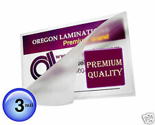 Hot 8x10 Photo Laminating Pouches 3 Mil 8-1/4 x 10-1/4 (100) Clear by OregonLam