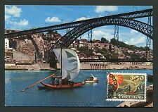 Portugal Mk barcos ships rabelo vine Wine Carte maximum card mc cm d6411