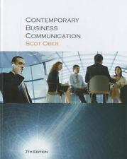 Contemporary Business Communication Seventh Edition by Ober, Scot