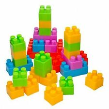 24 PIECES CHILDRENS KIDS COLOURFUL BUILDING BLOCKS BRICKS CONSTRUCTION TOY