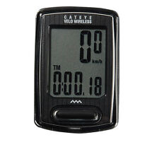 Cateye Cycling Velo Wireless Digital Computer Bicycle Speedometer CC-VT230 Black