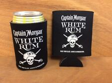 Captain Morgan White Rum Beer Koozies Can Cooler Coozie - New - 2 Pk - Free Ship