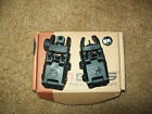 MagPul PTS MBUS Gen 1 Flip-Up Fold Down Back-up Sights Black Polymer