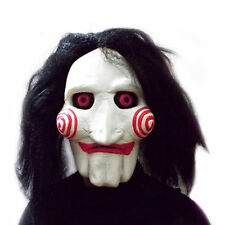 New Latex Saw Puppet Mask Scary Perfect For Halloween Props Costume Fancy Ball