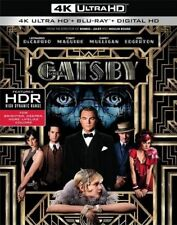 PRE ORDER: THE GREAT GATSBY  (4K ULTRA HD) - Blu Ray -  Region free