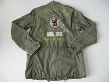 POLO RALPH LAUREN Men's Vintage 100% Cotton Twill Combat Jacket XXL