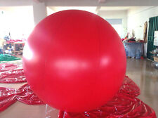 7ft Red Advertising Round Helium Balloon Ball IN STOCK Blank