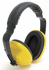 Blackrock Yellow Comfort Headband Ear Defenders 25db Protection Muffs (7210200)