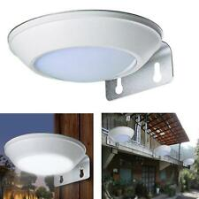 LED Solar Powered Security Motion Sensor Light Outdoor Wall Garden Lamp
