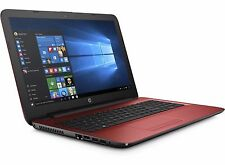 "HP 17 17.3"" Notebook Core i3-6100U 2.3GHz 4GB 1TB DVDRW WiFi W10 Red"