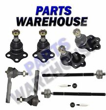 8 Pc Tie Rod Ends & Front Ball Joints Kit Dodge Dakota/Durango 2000-2004 1Y Wrty