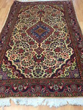 "3'5"" x 5'4"" New Genuine Persian Ardabil Oriental Rug - Wool & Silk - Very Fine"