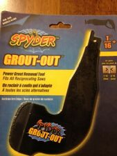 Spyder Grout-Out Power Grout Removal Tool 1/16""