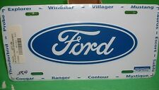 Ford License Plate Tag Ranger Thunderbird Explorer Windstar Taurus Probe Mustang